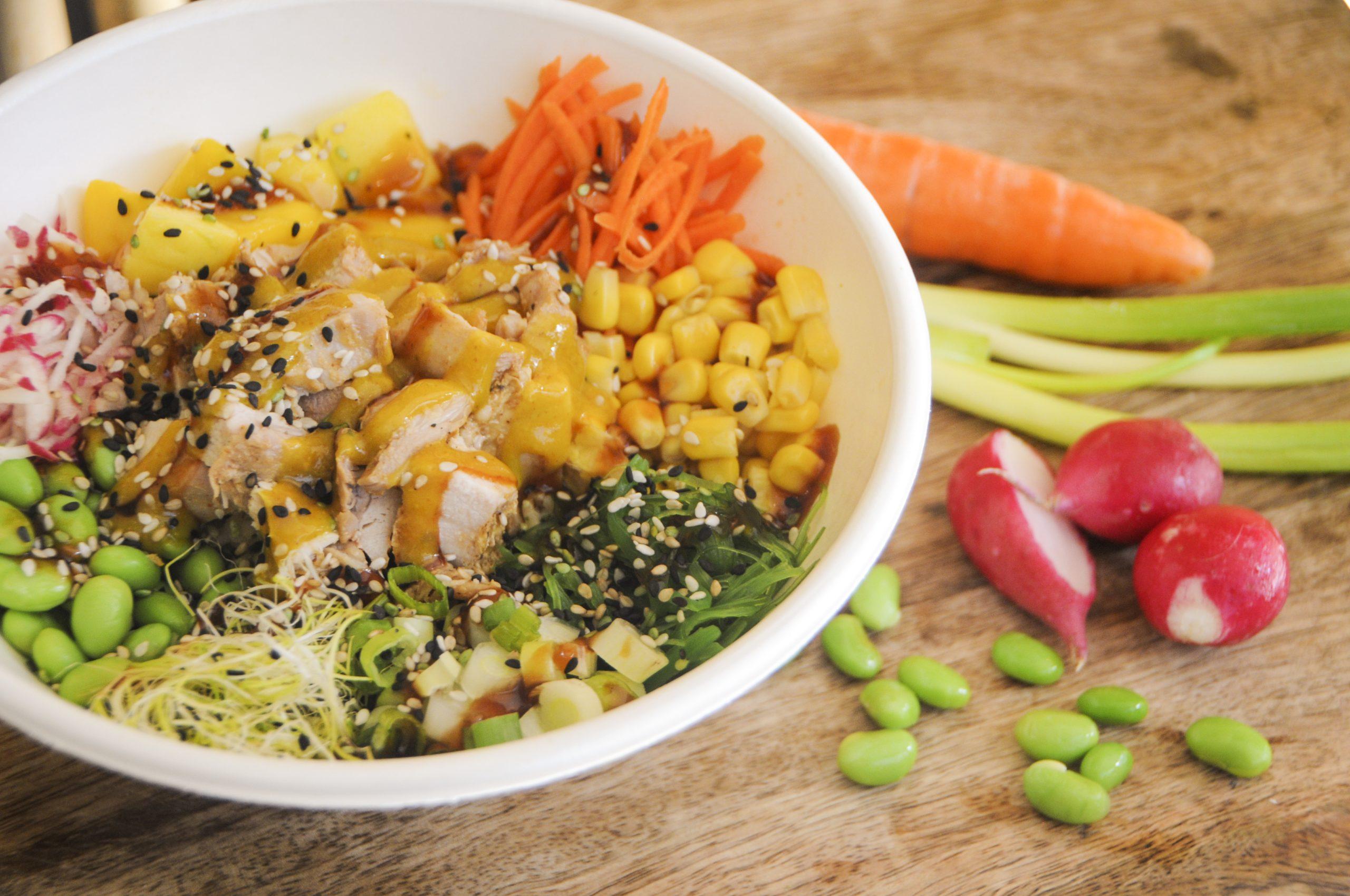 Chicken & Mango bonaire