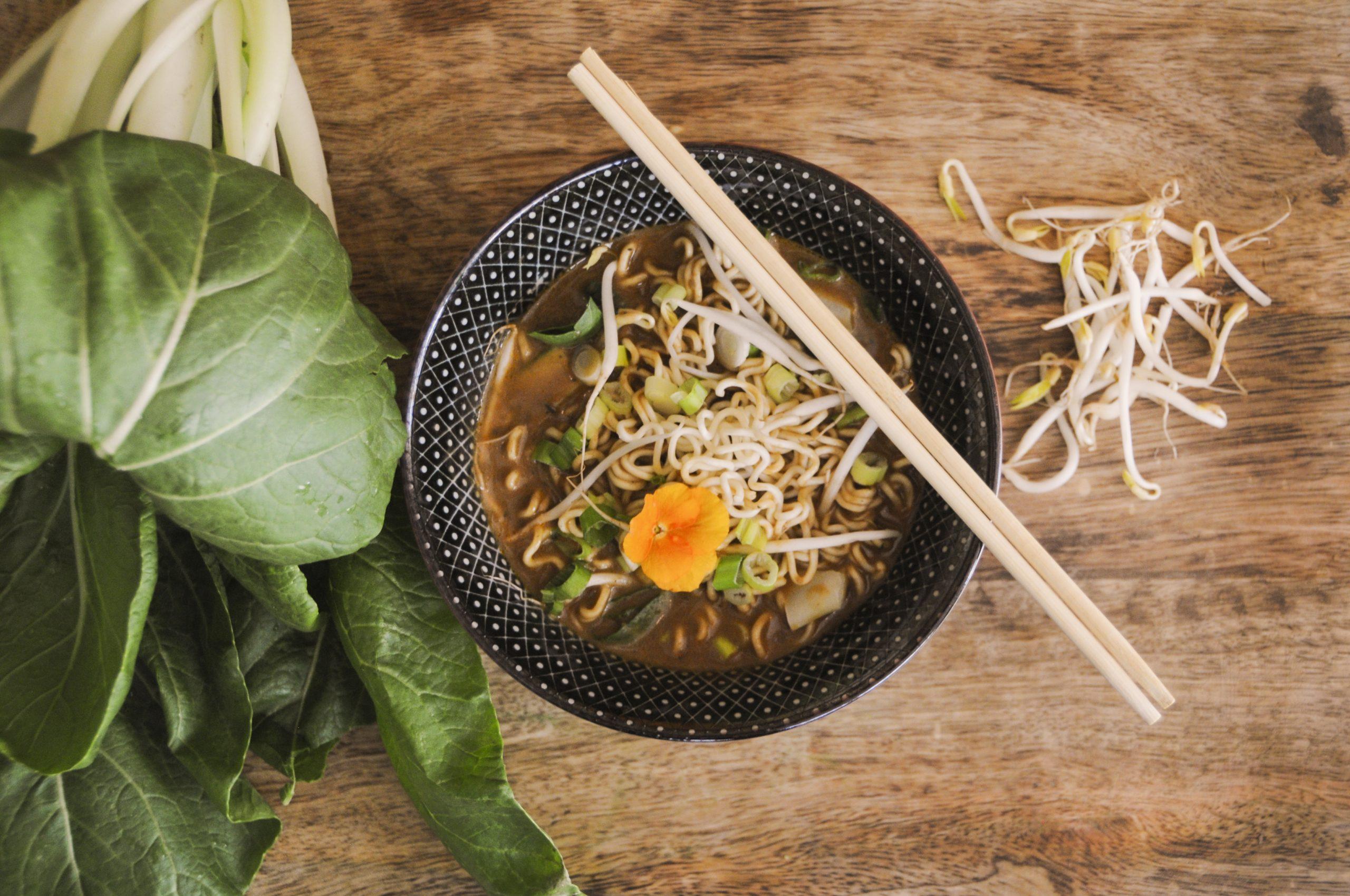 Fish & Shrimp Noodle Soup